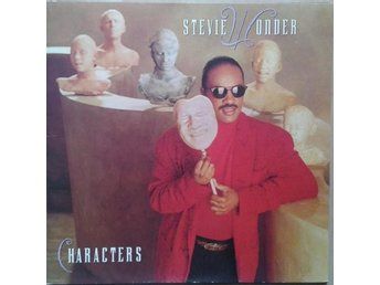 Stevie Wonder title* Characters* Funk/Soul LP, Gatefold UK & EU