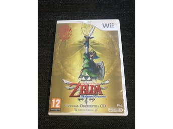 The legend of Zelda skyward sword LIMITED EDITION wii