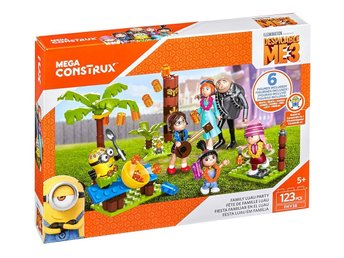 Mega Construx Despicable Me Minions Family Luau Party