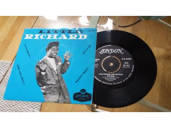 LITTLE RICHARD Rip It Up + 3 EP RARE BLACK LONDON LABEL SWEDEN