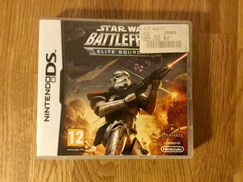 Nintendo DS. Star Wars Battlefront, Elite Squadron.