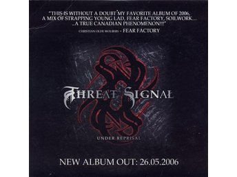Threat Signal ?– Under Reprisal  CD  NY (Scar Symmetry / Communic / Deathstars)