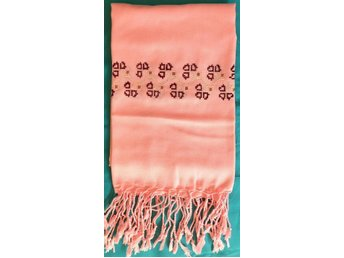 Cashmere Scarf (embroidery craft shawl)