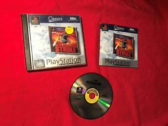 SOVIET STRIKE PS1 PLAYSTATION 1 PSONE