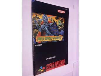 SNES: Manualer: Super Ghouls'n Ghosts (Manual - Tysk)
