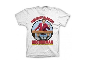 Anchorman T-shirt You Stay Classy S