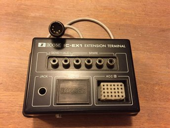 Icom IC-EX1 extension terminal