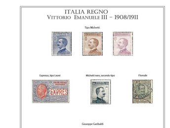Italy STAMP ALBUM PAGES 1861-2010 (382 pages) - Höör - Italy STAMP ALBUM PAGES 1861-2010 (382 pages) - Höör