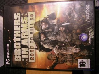 PC-spel Brothers in arms Road to hill 3.0