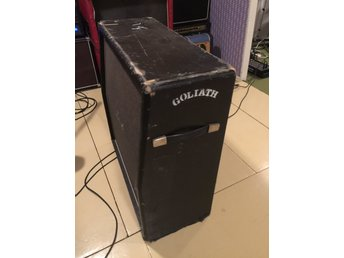 Marshall 4x12 kabinett (Vintage) '60/70-tal GOLIATH (UK)