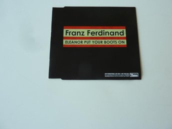 FRANZ FERDINAND - ELEANOR PUT YOUR BOOTS ON CD-SINGEL PROMO