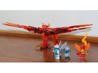 LEGO CHIMA 70221 FLINX'S ULTIMATE PHOENIX MED 2 FIGURER!