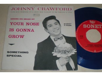 Johnny Crawford 45/PS Your nose is gonna grow 1962