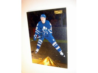 M SUNDIN  PINNACLE 96-97  PINNACLE FOIL   144    NYTT