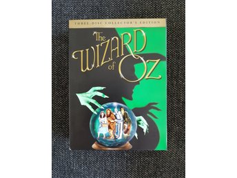 Trollkarlen från oz Wizard of Oz 3 disc collectors edition