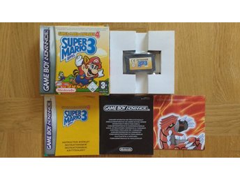 GBA/Game Boy Advance: Super Mario Bros 3 (svensksålt)