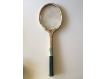 Vintage Marvel Retro Tennisracket i trä