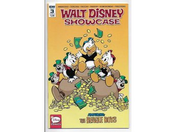 Walt Disney Showcase # 3 Cover B NM Ny Import