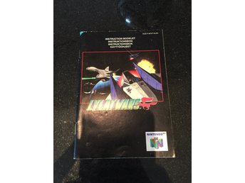Lylat Wars Nintendo 64 manual