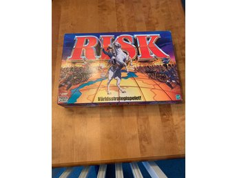 RISK Strategispel från Parker Hasbro 2000