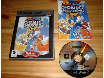 PS2: Sonic Heroes