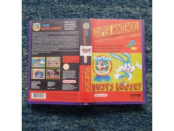 Tiny Toon Busts Loose  - Hyrbox - Super Nintendo Yapon SNES