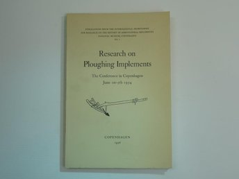Research on Ploughing Implements