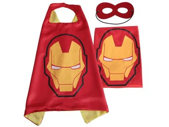 Mantel + Mask Iron man - Fri frakt