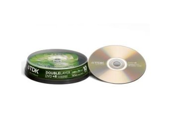 TDK DVD+R Doublelayer Cake 10-pack