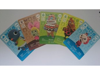 Animal Crossing Amiibo Cards series 4 Nr 326 - 330