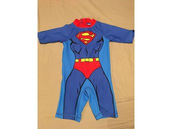 Superman UV-dräkt strl 92