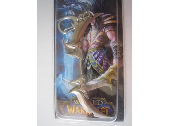 WOW World of Warcraft Vapen Nyckelring - Night Elf - Stockholm - WOW World of Warcraft Vapen Nyckelring - Night Elf - Stockholm