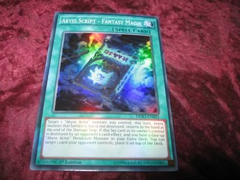 YU-GI-OH ABYSS SCRIPT - FANTASY MAGIC FOILAT DESO-EN023