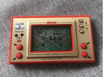 Nintendo Game & Watch Mickey Mouse