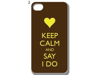 Keep Calm iPhone 5-5S Skal D9 - Kista - Keep Calm iPhone 5-5S Skal D9 - Kista