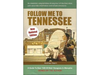 "ELVIS TURIST GUIDE BOK ""FOLLOW ME TO TENNESSEE"""
