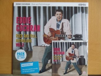 "Eddie Cochran Rock & Roll Anthologie Vol.2  10"" lp + cd collector´s pack NEW!!!"