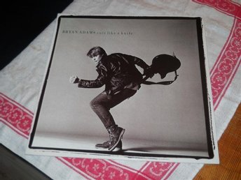 BRYAN ADAMS--Cuts like a knife.     LP
