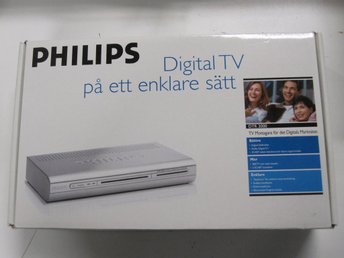 Philips Digitalbox för marksänd TV - DTR 2000