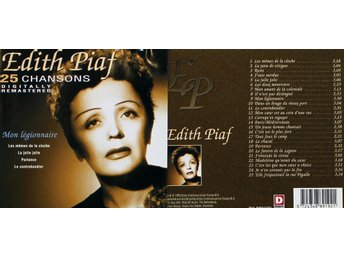 Edith Piaf, 25 chansons (CD)