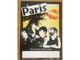 Poster Paris Yellow Eden