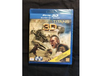 CLAS OF THE TITANS BLU-RAY 3D + BLU-RAY INPLASTAD