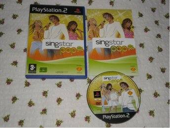 PlayStation 2: Singstar Pop (kräver mikrofoner)