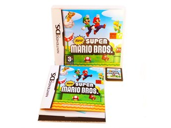 New Super Mario Bros. (UK4 med Svensk manual)