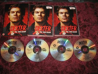 DEXTER - SÄSONG 3 (MICHAEL C.HALL,JULIE BENZ,JENNIFER CARPENTER) 4-DISC DVD