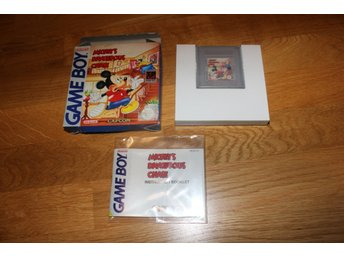 Mickey's dangerous chase (SCN) - Gameboy