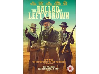 The Ballad of Lefty Brown 2017 107 Min  UK DVD Ny Western Kanon bra