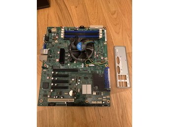 Intel® Server Board S1200BTL + Xeon E3-1230 3.2GHz och EXTRA moduler!