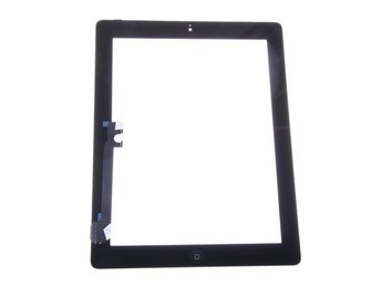 Display glas & Touch screen iPad 2 Svart