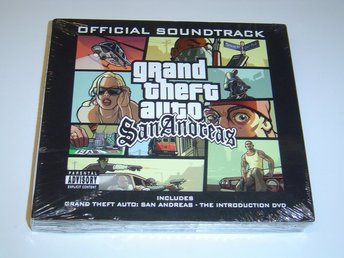 Grand Theft Auto San Andreas Original Soundtrack Musik *NYTT*